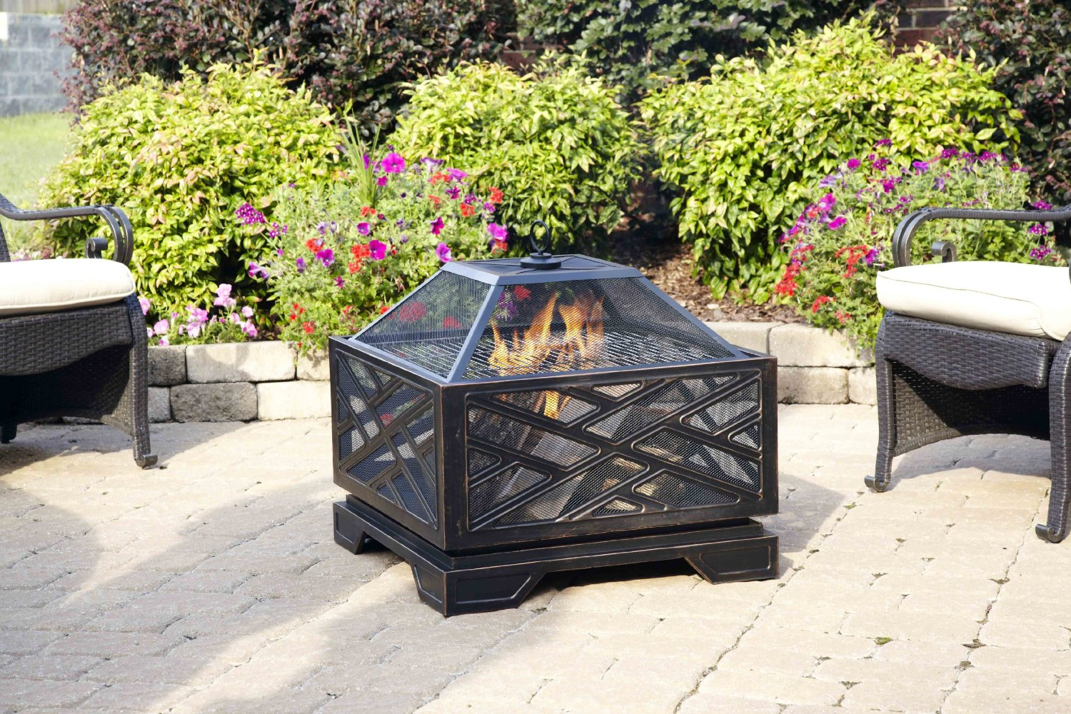 You Can Still Have Wood Burning Fire Pit On Your Deck