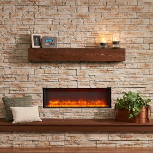 Electric Fireplace Hot Home Air