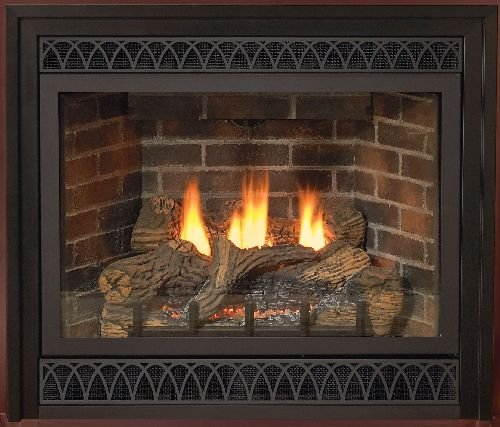 36 Inch Direct Vent NG Millivolt Fireplace