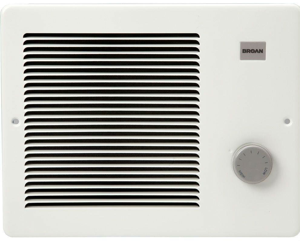 Broan 174 White Painted Grille Wall Heater