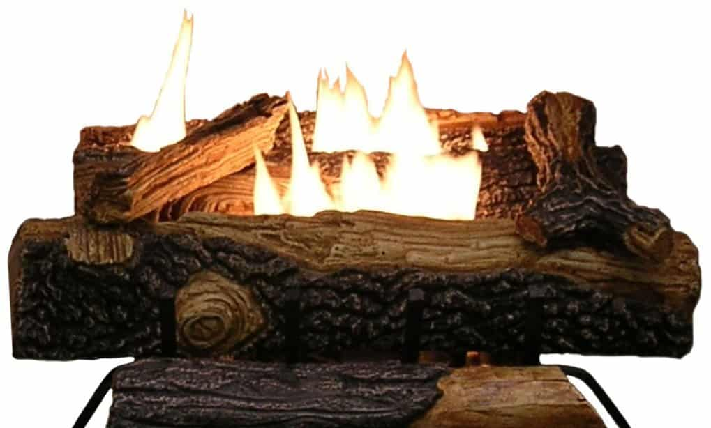 Best Gas Logs for Vented and Ventless Fireplaces Reviews