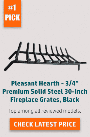Best Fireplace Grate in 2017 (Reviews and Buying Guide)