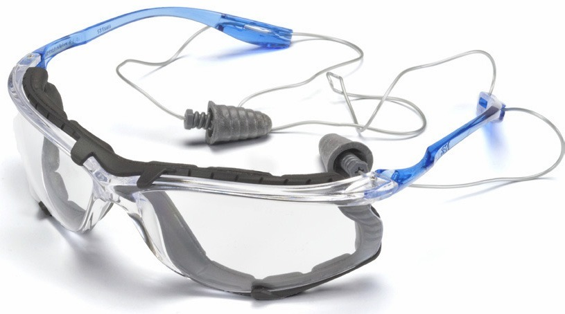 the best safety glasses with corded ear plugs